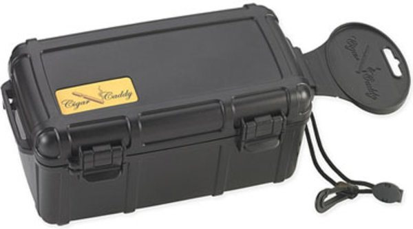 Cigar Caddy travel humidor 15 cigars