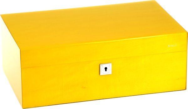 Siglo Humidor M rozmiar 75 żółty