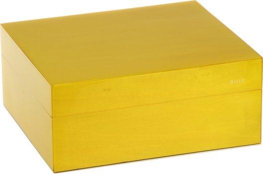 Siglo Humidor S rozmiar 50 żółty