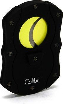 Obcinarka do cygar Colibri  'Cut ' czarno - żółta