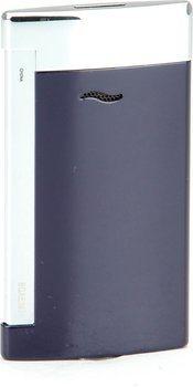 ST Dupont Slim 7 Zapalniczka Niebieska/Chromowana