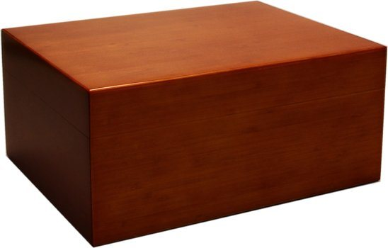 Humidor Bamboo Brown Frosted 50