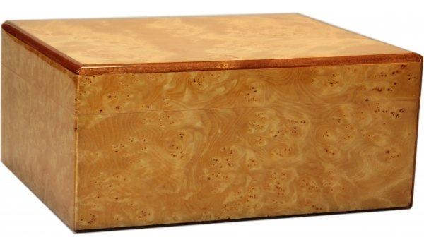 Humidor Lśniący Rzeżbione Drewno Guy Janot 50