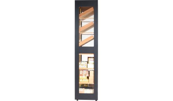 Humidor adorini Cabinet Capri Deluxe czarny