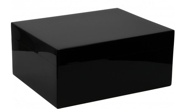 Humidor Guy Janot Black Piano Laquer 50