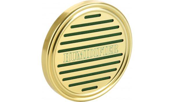 Nawilżacz Gąbkowy Okrągły/Złoty