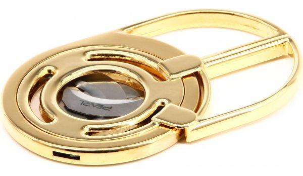 Pearl Zigarrenschere kompakt drei Klingen gold
