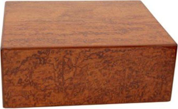 Elie Bleu Bubinga Wood 50-Cigar Humidor