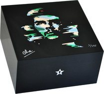 Elie Bleu Che Camouflage Humidor Dyed Sycamore
