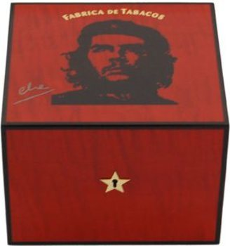 Elie Bleu Che Humidor Red