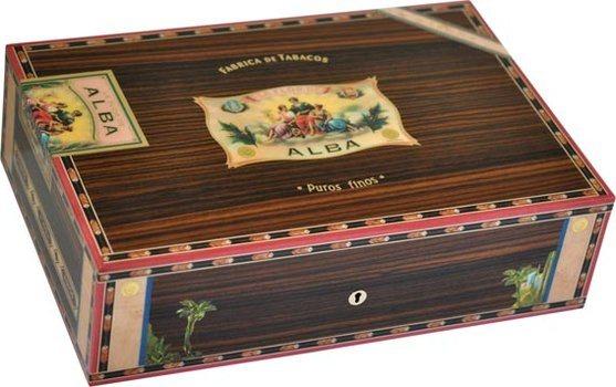 Elie Bleu Flor De Alba 110-Cigar Humidor Rosewood