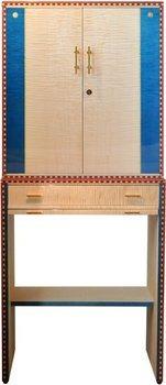 Elie Bleu Flor De Alba 600-Cigar Cabinet Humidor Natural Sycamore