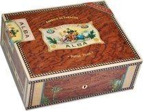 Elie Bleu Flor De Alba 75-Cigar Humidor Bubinga