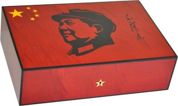 Elie Bleu Mao Humidor Red Sycamore
