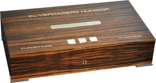 Elie Bleu New Medal 110-Cigar Humidor Ebony