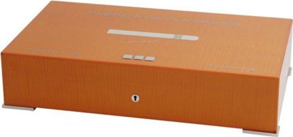 Elie Bleu New Medal 110-Cigar Humidor Orange