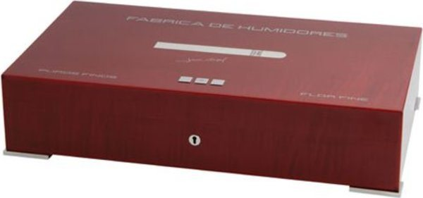 Elie Bleu New Medal 110-Cigar Humidor Red