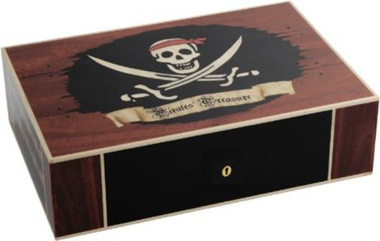 Elie Bleu Pirate's Treasure Limited Edition Humidor 110 Cigars