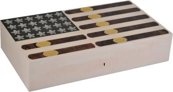 Elie Bleu Stars & Stripes Limited Edition Humidor 110 Cigars