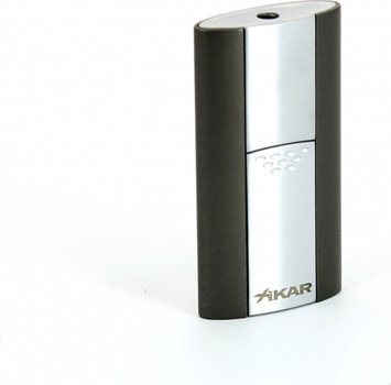 Xikar Flash Single Jet Cigar Lighter Gunmetal