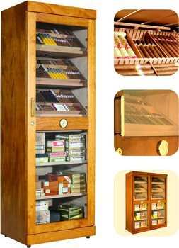 Adorini Roma (mahoń) elektroniczny humidor kabinet