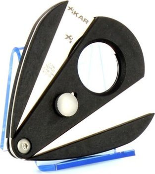 Xikar 2 dubbelbladad snoppare - Xi2 svart