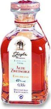 Ziegler Alte Zwetschge 0,35l - Jg. 1996 - Zigarrenbrand