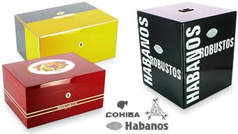Cohiba Humidors Montecristo, Habanos